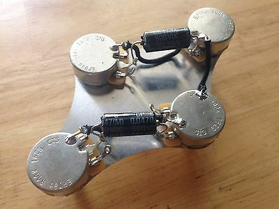 50'S WIRING GIBSON Epiphone Les Paul Harness 500k CTS Pot ... on