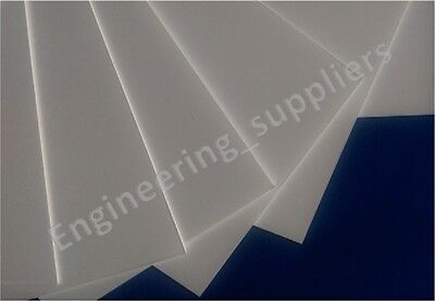 White Plasticard Sheet - High Impact Polystyrene (HIPS) 1, 1.5, 2 and 3mm thick