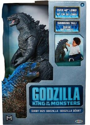 "Jakks Pacific Giant Godzilla 2019 Movie King Of The Monsters 40"" Action Figure"