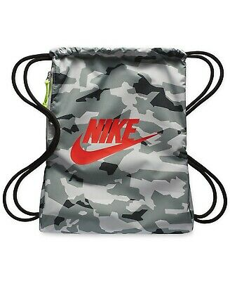 promo code b97e0 57d81 Nike Air camouflage Sportswear Heritage Gymsack Bag Gym