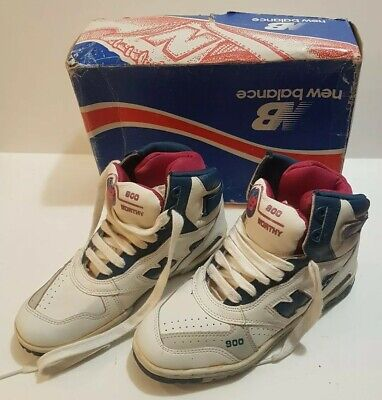 c035a9571161 Vintage New Balance Basketball Hitops 1986 80s 900 Worthy Boxed New Retro
