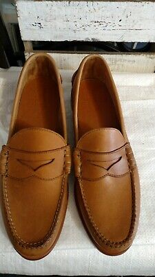 e53772312e Size 14 Rancourt   Co Horween Chromexcel Beefroll CXL Handmade Penny Loafers  EUC