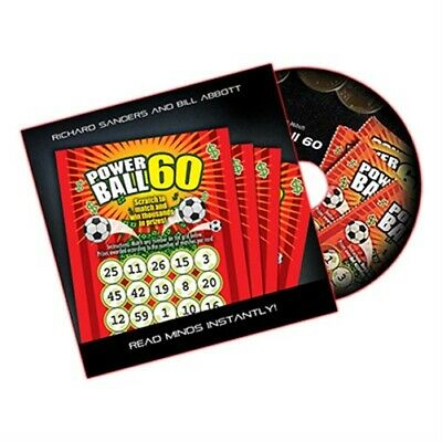 Powerball 60 (DVD, Gimmick, US Lotto) by Richard Sanders and Bill Abbott - DVD -