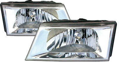 For 2003 2004 Mercury Grand Marquis Headlight Headlamp Pair Set Replacement