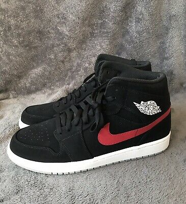 super popular 5fd1c b38cb Nike Air Jordan 1 Mid Black University Red Blue 554724-065 SZ 10