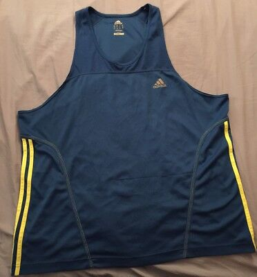 Nwt $29.50 Mens Adidas Climalite Shirt Size Medium Blue Sport Running Basketball New Varieties Are Introduced One After Another Activewear