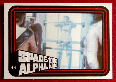 SPACE / ALPHA 1999 - MONTY GUM - Card #43 - Netherlands 1978