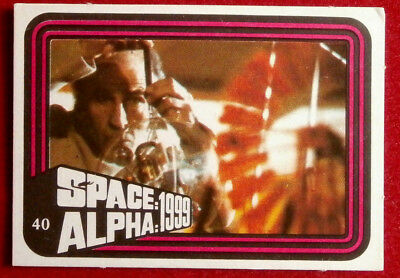 SPACE / ALPHA 1999 - MONTY GUM - Card #40 - Netherlands 1978
