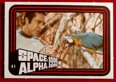 SPACE / ALPHA 1999 - MONTY GUM - Card #41 - Netherlands 1978