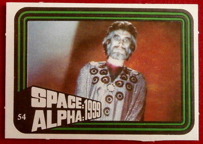 SPACE / ALPHA 1999 - MONTY GUM - Card #54 - Netherlands 1978