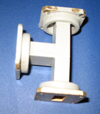 Microwave Waveguide E plane Tee X band WR90 8.2 GHz - 12.4 GHz