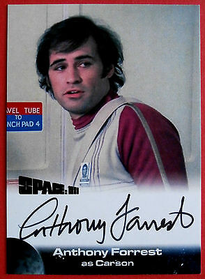 SPACE 1999 - ANTHONY FORREST as Carson - AUTOGRAPH CARD - Unstoppable Cards 2015
