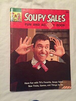 VINTAGE 1965 SOUPY Sales Doll W m c  5 1/4'' Doing The Mouse Dance