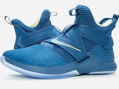 super popular bf34d 33076 NIKE LEBRON SOLDIER XII (PS) Basketball Kids Youth Shoes Sz ...