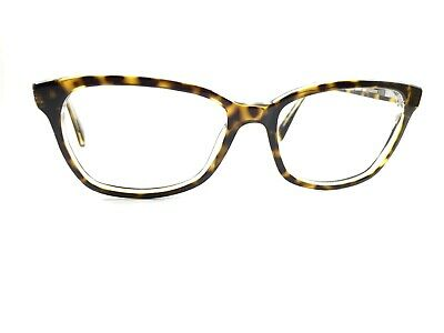 0d802d3db6826 Authentic Ray Ban RB5362 5082 Havana on Transparent Rx Eyeglasses Frames  54 17