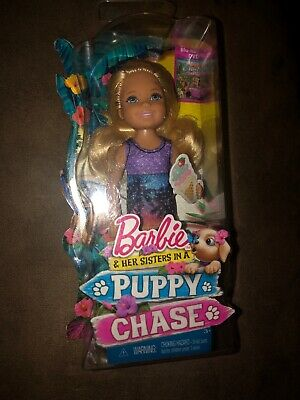 Barbie And Her Sisters In A Puppy Chase Chelsea Doll 2015 Nib