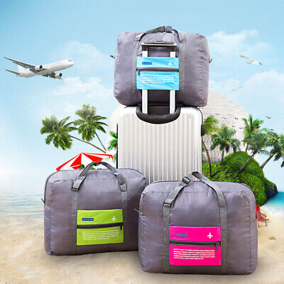 Foldable Travel Storage Luggage Carry on Organizer Hand Shoulder Big Duffle Bags