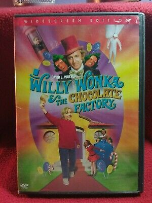 Willy Wonka & The Chocolate Factory Dvd With Sing-A-Long Special Features