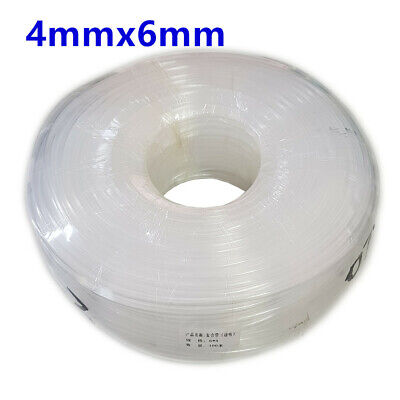 10m/pack Solvent Ink Tube 4mmx6mm for Wide Format Printers