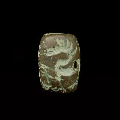 A Bactrian copper bead seal x9351
