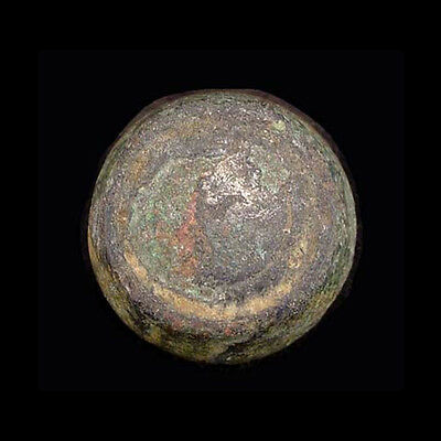 Roman to Byzantine bronze weight. a7796