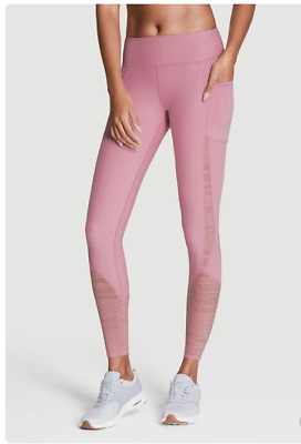5808aeac7d Victoria's Secret Sport Total Knockout tight Mesh and spandex M up to L Pink  NWT
