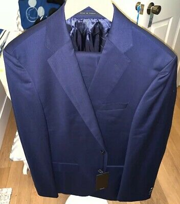 b3c4aa13b Boss Hugo Boss Johnstons/Lenon Classic Fit Wool Suit Size 40R NWT