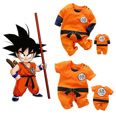 2a19aff68f7be DRAGON BALL Z Goku Romper Baby Infant Jumpsuit Overall Children Body ...