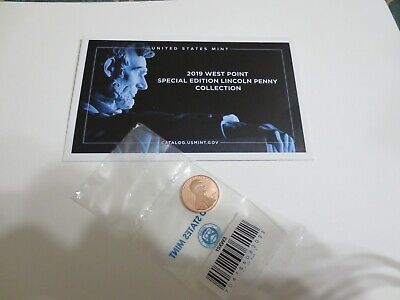 2019 W Proof Reverse Lincoln Cent From The Silver Set Second West Point Cent+