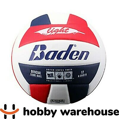 Baden Light Volleyball Red/White/Navy