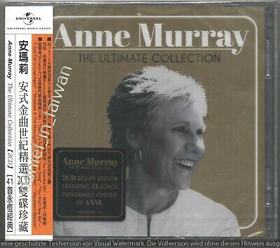 Anne Murray: Ultimate Collection (2017) TAIWAN OBI 2-CD 2019 REISSUE SEALED