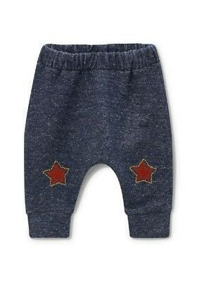 NEW Next Baby Boys Star Joggers Age 0 3 6 9 Months Navy Pull On Bottoms Leggings