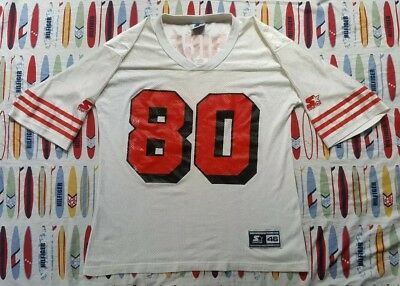 new product d9532 d762c VINTAGE 90S JERRY Rice Starter Jersey #80 Medium