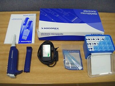Socorex Initial Package Acura® Electro Micropipette XS 926 Volume 50 - 1000µl