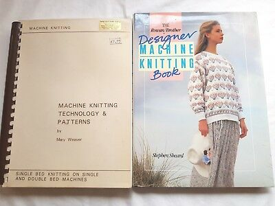 Bk99 Brother Knitting Machine Pattern Books  Mary Weaver Rowan Brother Manuals