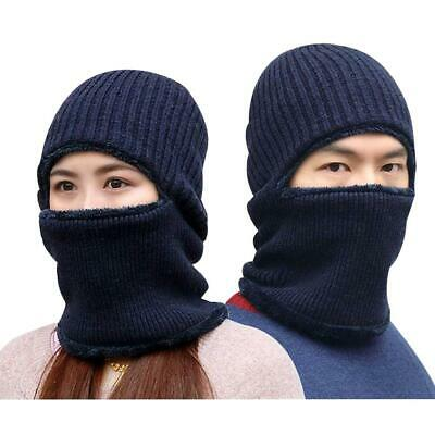 1d316adf3de Windproof Cap Balaclava Beanie Mask Wool Hats Thick Warm Knitted Ski Face  Mask