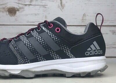 70a1e54c7aa ADIDAS GALAXY TRAIL Women's Running Shoes - Grey/Pink Ba8645 Size ...