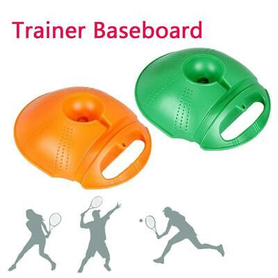 Tennis Ball Trainer Self-study Practice Training Exercise Rebound Baseboard