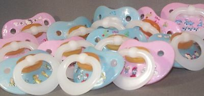 ADULT PACIFIER Nuk style dummy soother NUK4 or NUK5 teat / nipple modified new