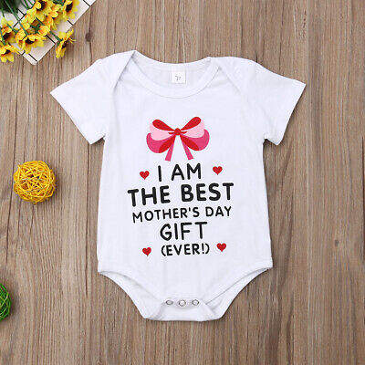 AU MOTHER'S DAY Toddler Baby Girl Boy Summer Romper Jumpsuit Bodysuit One-Pieces