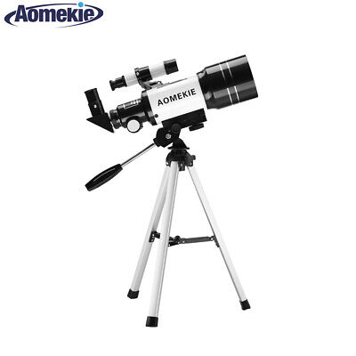 30070 Refractor Astronomical Telescope With Tripod For Beginners