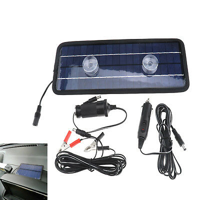 Solar Trickle Panel 12V 4.5W Power Portable Battery Charger Car Boat