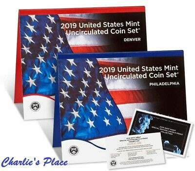 2019-PDW 21-Coin Uncirculated Coin Set (19RJ) Presale