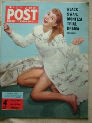 Picture Post / 11 March 1957 / Black Swan: Montesi Trial Drama