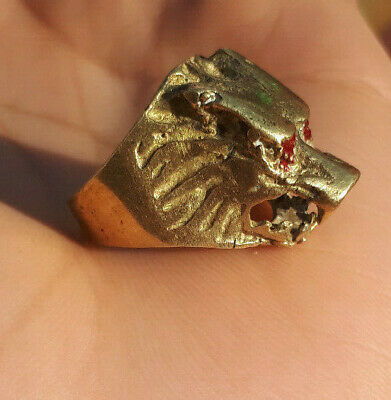 LOW OUTBID !! EXTREMELY Ancient authentic Copper BRONZE RING quality ARTIFACT.
