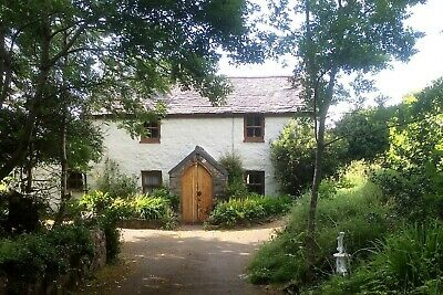 Spring at Olde worlde character holiday cottage CONWY valley Snowdonia N.Wales