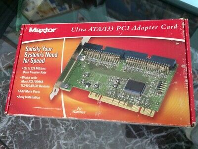MAXTOR ATA 133 CONTROLLER CARD DRIVERS PC