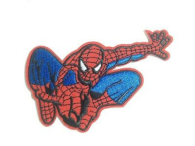 Spiderman ~ Embroidered Patch ~ Iron On Sew On