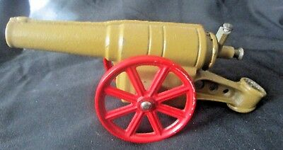 Vintage Cast Iron Big Bang Cannon, N0. 6F , 9 Inches Long