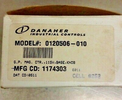 Danaher Counter with Knob Model 0120506-010